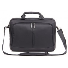 "Kingsons Best In Class Executive Series 15.6"" Black Laptop Shoulder Bag for Apple, Dell, HP, Asus, Lenovo, Acer, & Toshiba"