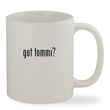 got tommi? - 11oz White Sturdy Ceramic Coffee Cup Mug