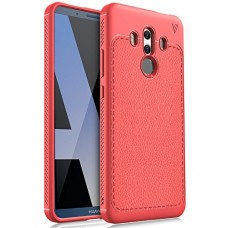 Huawei Mate 10 pro case, KuGi [Scratch Resistant] Premium Flexible Soft TPU Case for Huawei Mate 10 pro smartphone(Red)