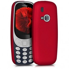 kwmobile Stylish Hard Cover for Nokia 3310 (2017) metallic dark red