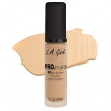 LA Girl PRO.mattte HD.high-definition long wear matte foundation (GLM671 Ivory)