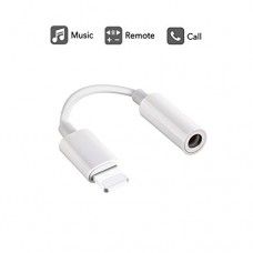 Lightning to 3.5mm Headphone Jack Adapter, Labobbon 8 Pin Connector for iPhone 8/ 8 Plus/ iPhone X/ iPhone 7/ 7 Plus, iPod Touch, iPad and More, Mu...