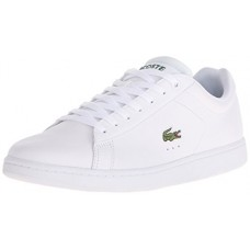 Lacoste Men's Carnaby EVO LCR Casual Shoe Fashion Sneaker, White, 11.5 M US