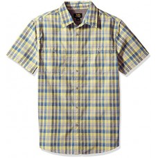 LEE Men's Cleff Shirt, Lemon Drop, Large