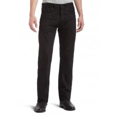 Levi's Men's 501 Original-Fit Jean, Polished Black, 42X32