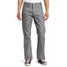 Levi's Men's 501 Shrink To Fit Jean, Silver Rigid, 33x36
