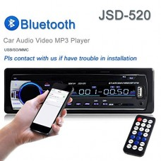 Car Stereo Radio Lexxson 60Wx4 Output Bluetooth FM MP3 Stereo Radio Receiver Aux With USB SD L-JSD-520