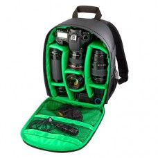 LightInTheBox Photography Multi-functionalDigital DSLR Camera Bag Backpack Waterproof Photo Camara Bags Case Mochila for Photographer Green