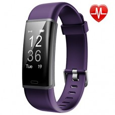 Fitness Tracker, Lintelek Customized Activity Tracker with Heart Rate Monitor, 14 Sports Modes Smart Watch IP67 Waterproof Bluetooth Pedometer for ...