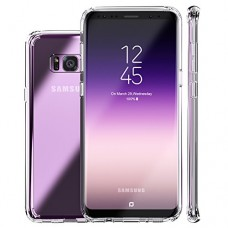 Galaxy S8 Plus Case,Clear Slim Hybrid Armor Perfect Fit Hard Anti Scratch Excellent Grip Flexible Tpu Non Slip Non Bulky 360 Full Body Shockproof P...