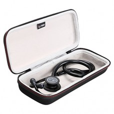 LTGEM Case for 3M Littmann Classic III Stethoscope 5803-Black
