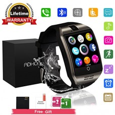 Bluetooth Smart Watch Touchscreen with Camera,Unlocked Watch Cell Phone with Sim Card Slot,Smart Wrist Watch,Waterproof Smartwatch Phone for Androi...