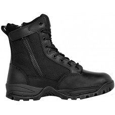 Maelstrom Men's Tac Force 8 Inch Waterproof Military Tactical Duty Work Boot With Zipper, Black, 10.5 W US