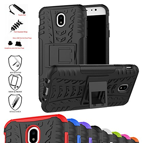 Galaxy J7 Pro J730G Case,Mama Mouth Shockproof Heavy Duty Combo Hybrid Rugged Dual Layer Grip Cover with ...