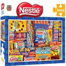 MasterPieces Candy Brands Nestle - Chocolate Collage 1000 Piece Jigsaw Puzzle