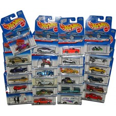Hot Wheels Lot of 24 Cars in Original Packages - Styles May Vary