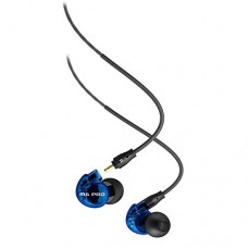 MEE Audio M6 PRO Noise-Isolating Limited Edition Blue In-Ear Monitors w/ Detachable Cables