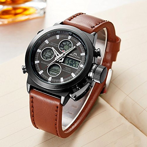 Mens Sports Watches Men Military Waterproof Big Face ...