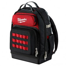 Milwaukee Ultimate Jobsite Backpack,Constructed of 1680D Ballistic Materials,with 48 Total Pockets, 5X More Durable and 2X More Padding, unsurpasse...