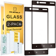 [2-PACK]-Mr Shield For Nokia 3 [Japan Tempered Glass] [Full Cover] [Black] Screen Protector with Lifetime Replacement Warranty