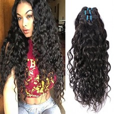 Brazilian Curly Hair Wet and Wavy Human Hair 7A Brazilian Virgin Hair Water Wave Curly Hair Extensions 3 Bundles