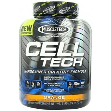 MuscleTech Performance Series Cell-Tech - Orange, 6.0 lbs (2.7 kg)