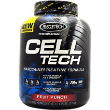 MuscleTech Celltech Hardgainer Creatine Formula - Fruit Punch 6 lbs Pwdr