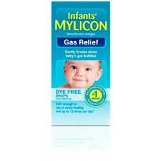 Mylicon Infant Drops Anti-Gas Relief Dye Free formula, 0.5 Fluid Ounce