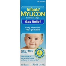 Mylicon Infant Drops Anti-Gas Relief Dye Free Formula, 1 Fluid Ounce