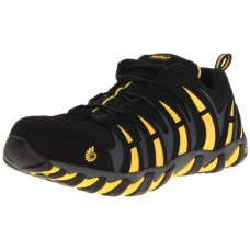 Nautilus 1925 Comp Toe No Exposed Metal EH Athletic Shoe,Black/Yellow,9 M US