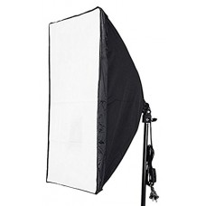 "Neewer 50cmx70cm/20""x28"" Wired Studio Softbox Diffuser with E27 Socket for fluorescent Bulb Lamp"