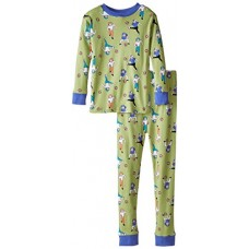 New Jammies Little Boys' Snuggly Pajama, Football Tough, 7