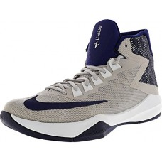 New Nike Men's Zoom Devosion Basketball Shoe Wolf Grey/Blue 10