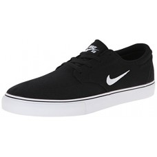 NIKE Men's SB Clutch Skateboarding Shoe, Black, 8 D(M) US