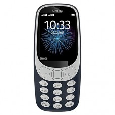 """Nokia TA-1036-C 3310 3G Factory Unlocked Phone (AT&T/T-Mobile) - 32GB - 2.4"""" - Charcoal"""