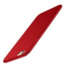 Case Cover for iPhone 8, NOMENI Ultra-thin Luxury Hard PC Back Case Cover For iPhone 8 4.7inch (Red)