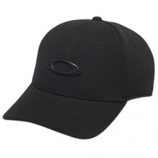Oakley Men's Tincan Cap Hat, Black/Carbon Fiber, L/XL