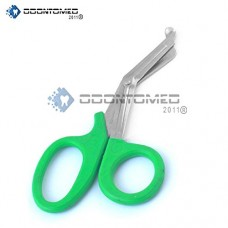 OdontoMed2011 PARAMEDIC UTILITY GREEN BANDAGE FIRST AID TRAUMA EMT EMS SHEARS SCISSORS 5.5 INCH STAINLESS STEEL BLADE