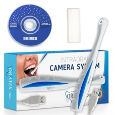 Oratek1000 Dental Intraoral Camera System, Intra-oral Dental Digital Camera, Dental Photography Oral Dentist Video Cam - Super Clear! Works With Mo...