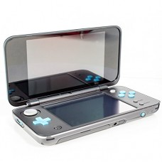 New 2DS XL Case, Orzly InvisiCase for NEW Nintendo 2DS XL (2017 Model) - 100% CLEAR Protective Cover Shell for the New (Foldable Screen Version) of...