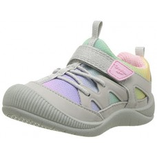 OshKosh B'Gosh Girls' Abis Protective Bumptoe Sneaker, Multi Color, 7 M US Toddler