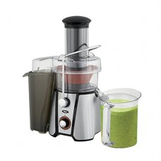 Oster JusSimple 5 Speed Easy Clean Juice Extractor with Extra-Wide Feed Chute, FPSTJE9020-000, 1000W, Black/Silver