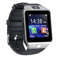 Pandaoo Smart Watch Mobile Phone DZ09 Unlocked Universal GSM, Bluetooth 4.0, Music Player, Camera, Calendar, Stopwatch Sync with Android Smartphone...