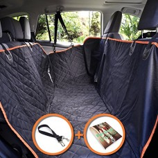 PETerials Car Dog Seat Cover, Hammock & Protector - Comfortable, Waterproof & Rip-Resistant Material - Heavy Duty & Durable With Extra Side Flaps &...