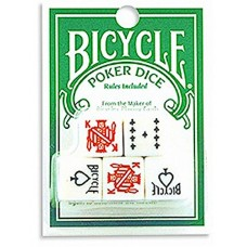 Bicycle Brand Poker Dice