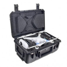 "CasePro CP-PHAN-CO1 DJI Phantom Quadcopter/GoPro Carry-On Hard Case, 22"" Length, 14.75"" Width, 9.5"" Height, Black"