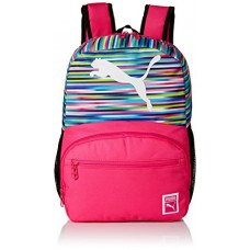 PUMA Little Girl's Puma Cyclone Jr. Kids Backpack Accessory, pink/multi, Youth