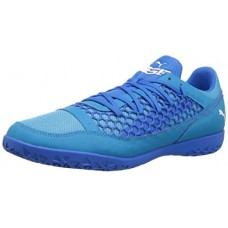 PUMA Men's 365 NF CT Soccer Shoe, Electric Blue Lemonade White-Hawaiian Ocean, 7.5 M US