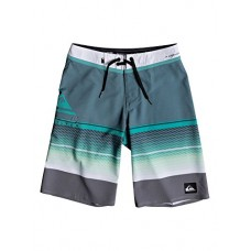 Quiksilver Big Boys' Highline Slab Youth Boardshort Swim Trunk, Atlantic Deep, 28/14