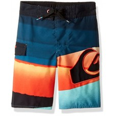 Quiksilver Little Boys' Slash Logo 14, Moroccan Blue, 6